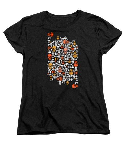 Halloween Women's T-Shirt (Standard Cut) by Mark Ashkenazi