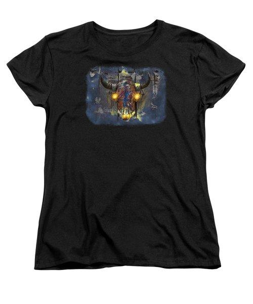 Halloween Shirt And Accessories Women's T-Shirt (Standard Cut) by John M Bailey