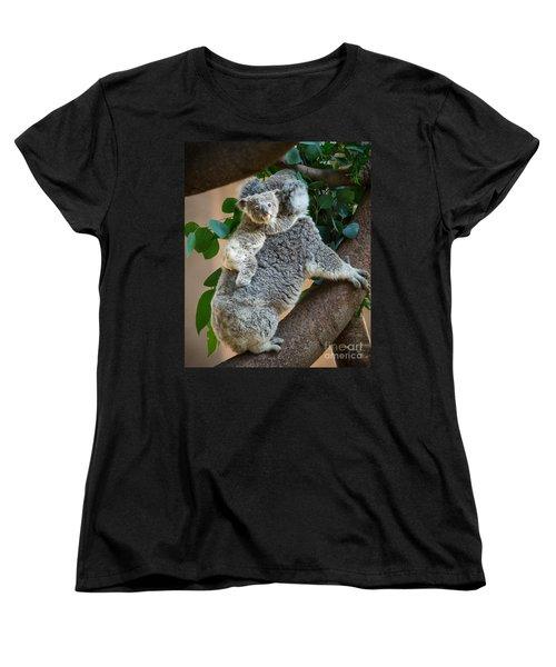 Hanging On Women's T-Shirt (Standard Cut) by Jamie Pham