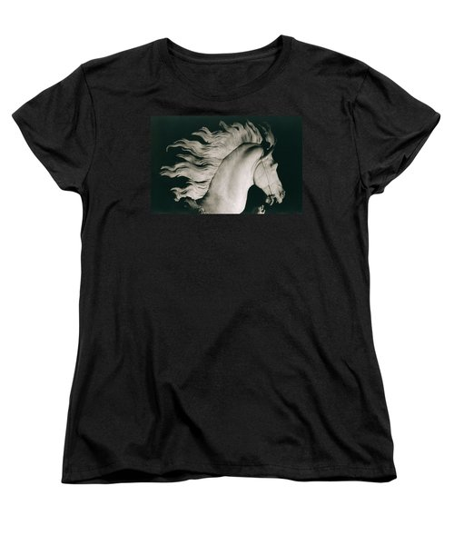 Horse Of Marly Women's T-Shirt (Standard Cut) by Coustou