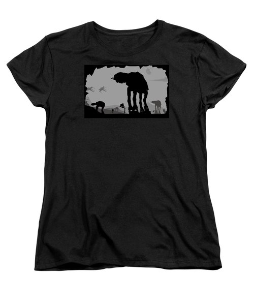 Hoth Machines Women's T-Shirt (Standard Cut) by Michael Bergman