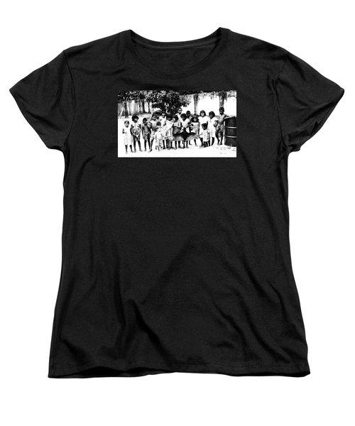 In The Amazon 1953 Women's T-Shirt (Standard Cut) by W E Loft