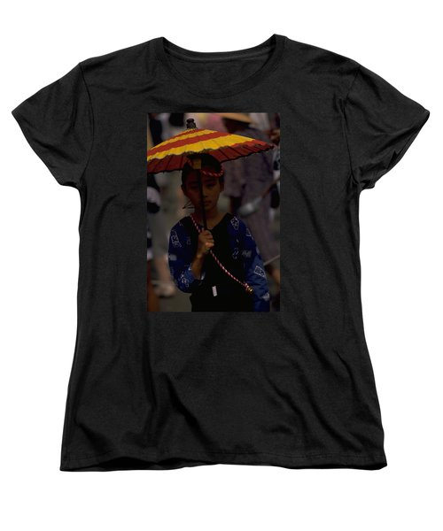 Women's T-Shirt (Standard Cut) featuring the photograph Japanese Girl by Travel Pics
