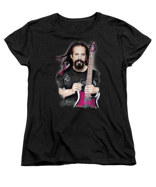 John Petrucci Women's T-Shirt (Standard Cut) by Melanie D