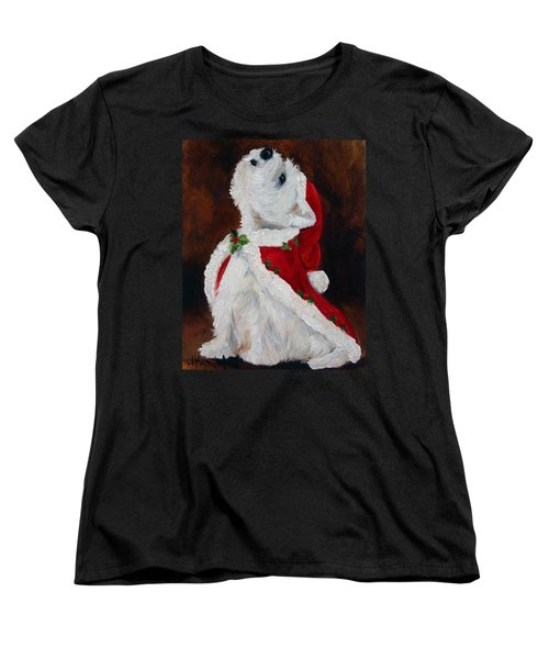 Joy To The World Women's T-Shirt (Standard Cut) by Mary Sparrow