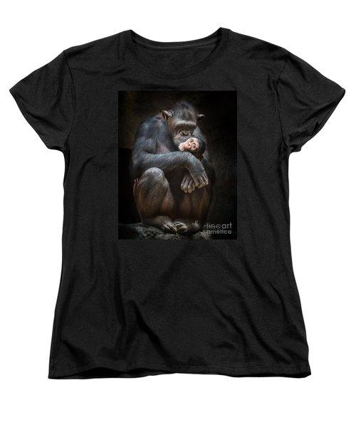 Kiss From Mom Women's T-Shirt (Standard Cut) by Jamie Pham