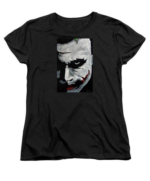 Ledger's Joker Women's T-Shirt (Standard Cut) by Dale Loos Jr