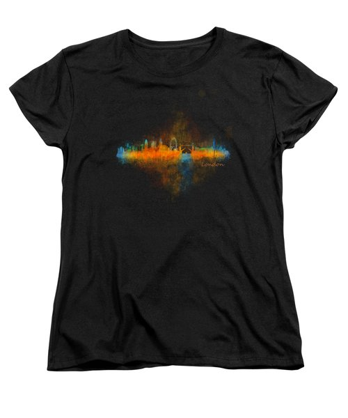 London City Skyline Uhq V4 Women's T-Shirt (Standard Cut) by HQ Photo