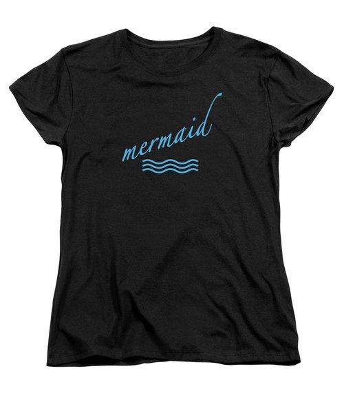 Mermaid Women's T-Shirt (Standard Cut) by Bill Owen