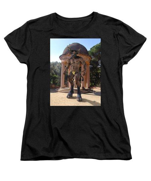 Monster Maze Women's T-Shirt (Standard Cut) by Joaquin Abella