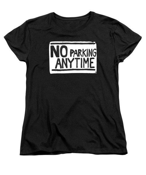 No Parking Women's T-Shirt (Standard Cut) by H James Hoff