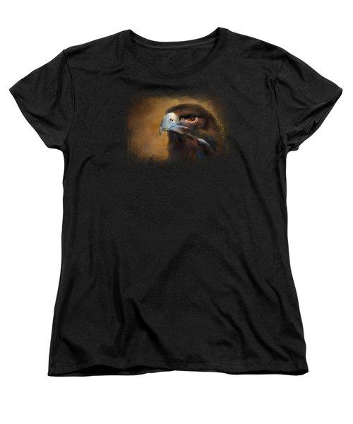 One White Feather Women's T-Shirt (Standard Cut) by Jai Johnson