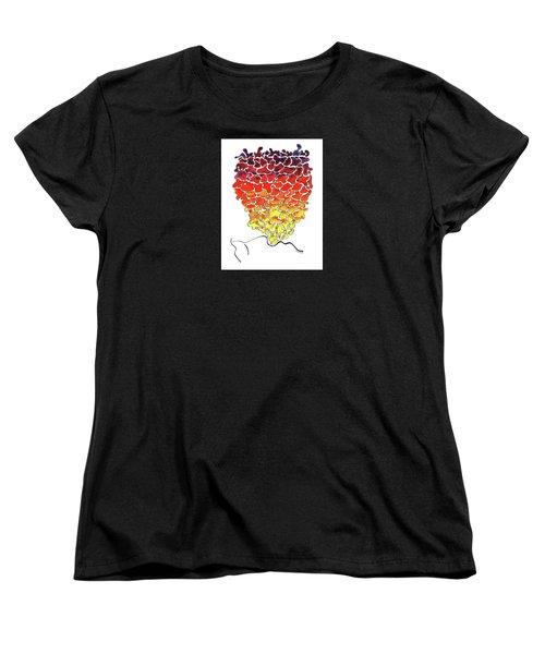 Pele Dreams Women's T-Shirt (Standard Cut) by Diane Thornton