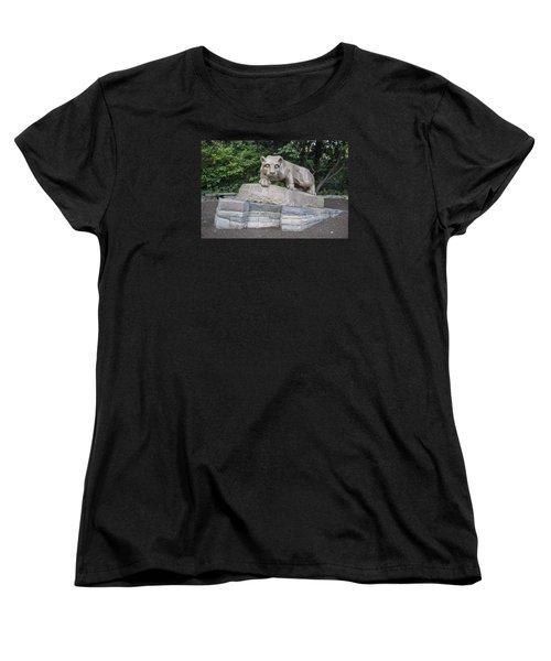 Penn Statue Statue  Women's T-Shirt (Standard Cut) by John McGraw