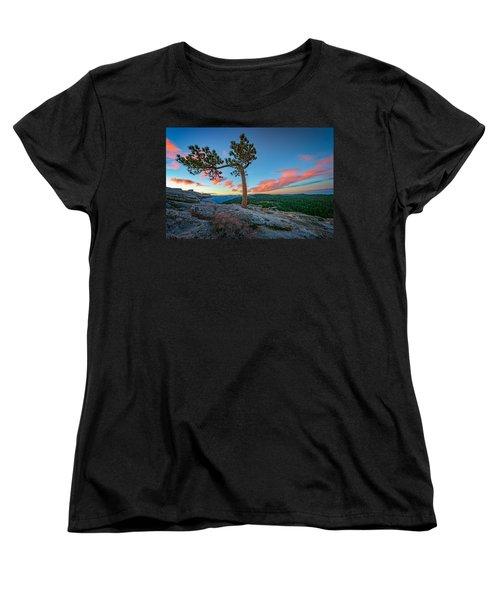 Sentinel Dawn Women's T-Shirt (Standard Cut) by Rick Berk