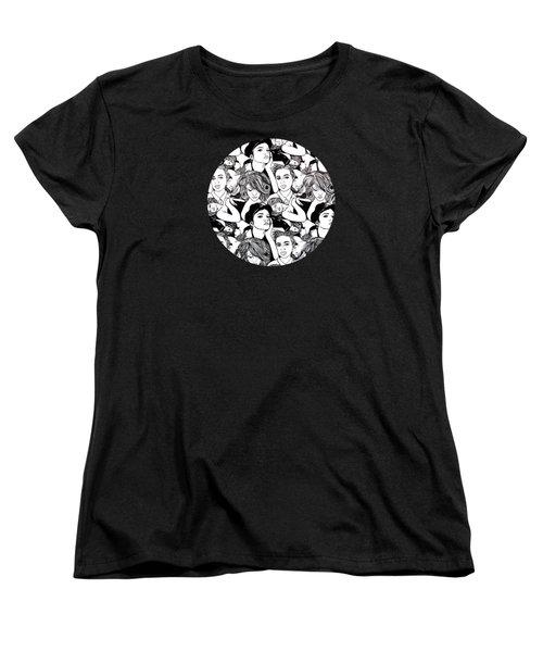 Seven Beauties Women's T-Shirt (Standard Cut) by Malinda  Prudhomme