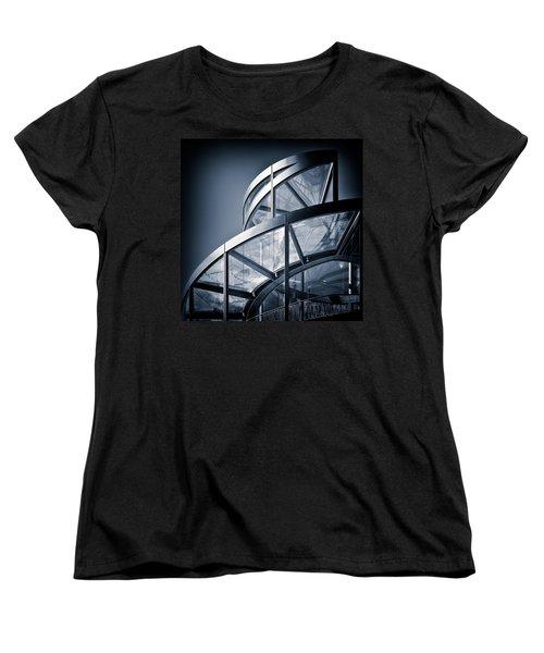 Spiral Staircase Women's T-Shirt (Standard Cut) by Dave Bowman