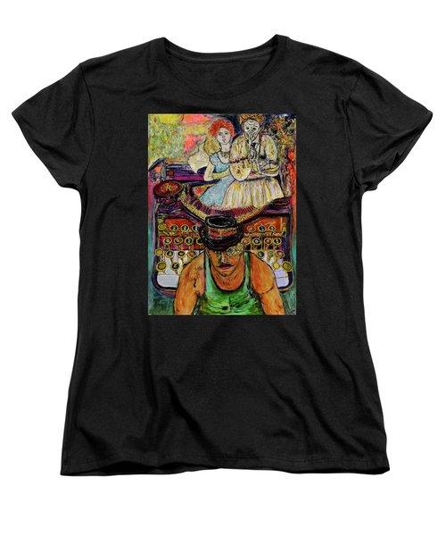 Strife  Women's T-Shirt (Standard Cut) by Lindsay Strubbe