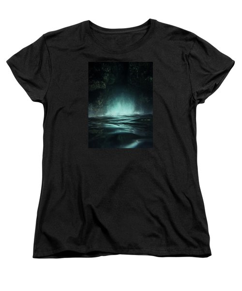 Surreal Sea Women's T-Shirt (Standard Cut) by Nicklas Gustafsson