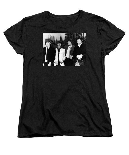 The Beatles, 1960s Women's T-Shirt (Standard Cut) by Granger