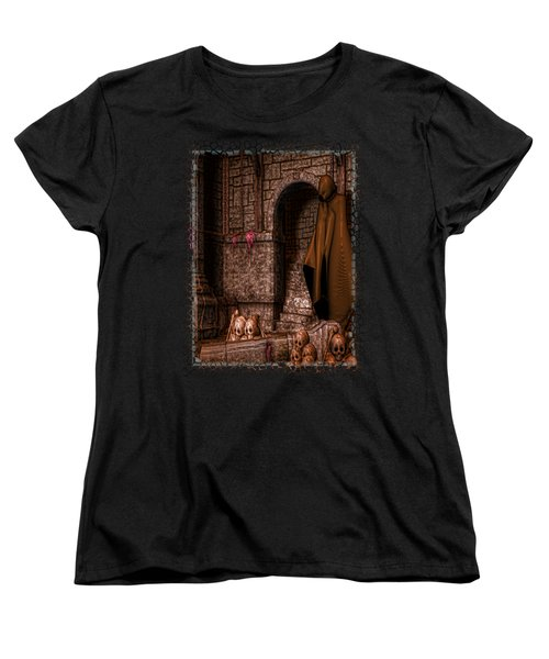 The Dark Women's T-Shirt (Standard Cut) by Sharon and Renee Lozen