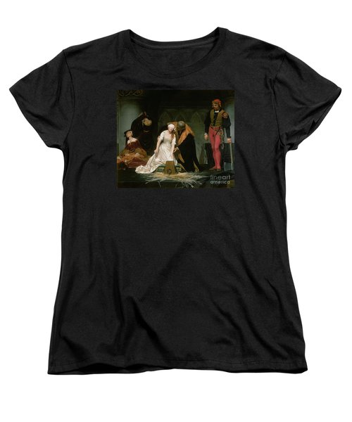 The Execution Of Lady Jane Grey Women's T-Shirt (Standard Cut) by Hippolyte Delaroche