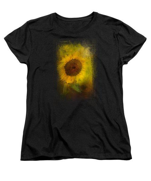 The Happiest Flower Women's T-Shirt (Standard Cut) by Jai Johnson