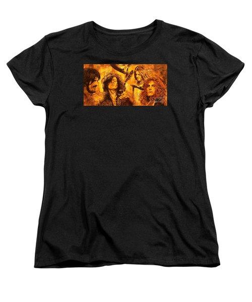 The Legend Women's T-Shirt (Standard Cut) by Igor Postash