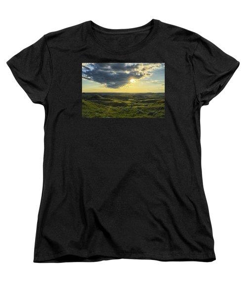The Sun Shines Through A Cloud Women's T-Shirt (Standard Cut) by Robert Postma