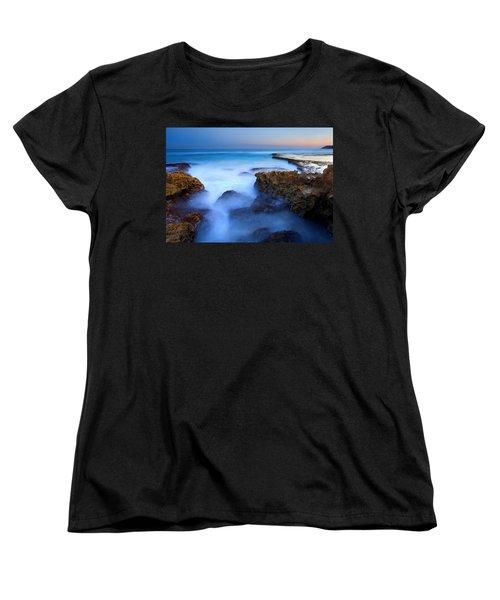 Tidal Bowl Boil Women's T-Shirt (Standard Cut) by Mike  Dawson