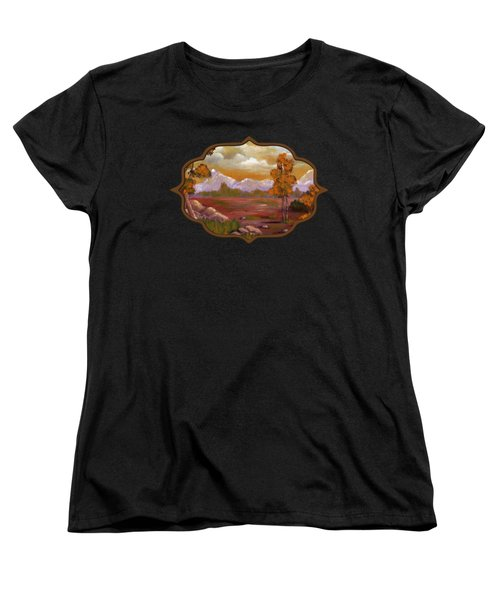Unpredictable Weather Women's T-Shirt (Standard Cut) by Anastasiya Malakhova