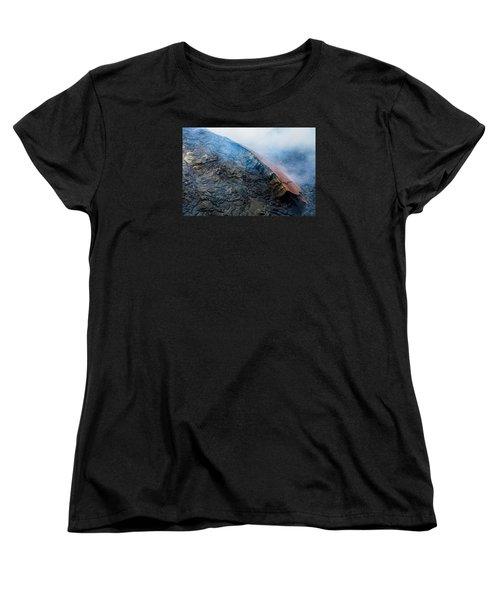 Women's T-Shirt (Standard Cut) featuring the photograph Volcanic Ridge by M G Whittingham