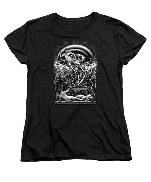 Winya No. 40 Women's T-Shirt (Standard Cut) by Winya Sangsorn