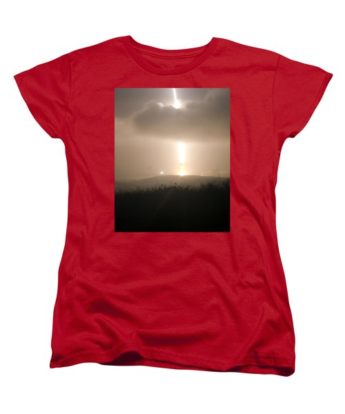 Women's T-Shirt (Standard Cut) featuring the photograph Minuteman IIi Missile Test by Science Source