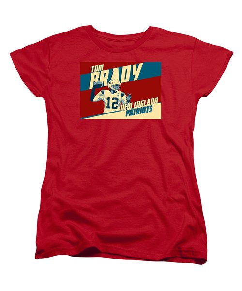 Tom Brady Women's T-Shirt (Standard Cut) by Taylan Soyturk