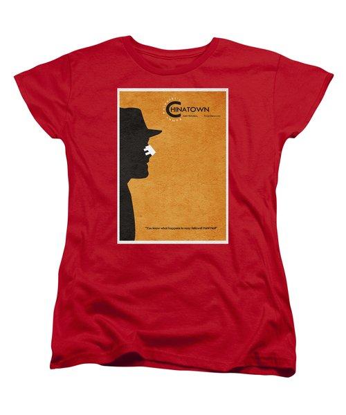 Chinatown Women's T-Shirt (Standard Cut) by Ayse Deniz