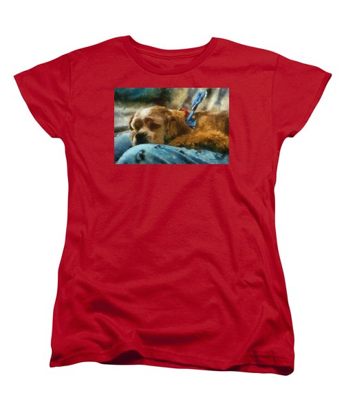 Cocker Spaniel Photo Art 07 Women's T-Shirt (Standard Cut) by Thomas Woolworth
