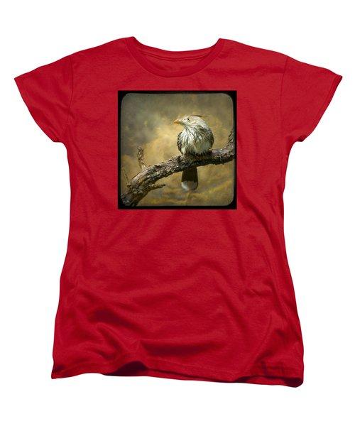Exotic Bird - Guira Cuckoo Bird Women's T-Shirt (Standard Cut) by Gary Heller