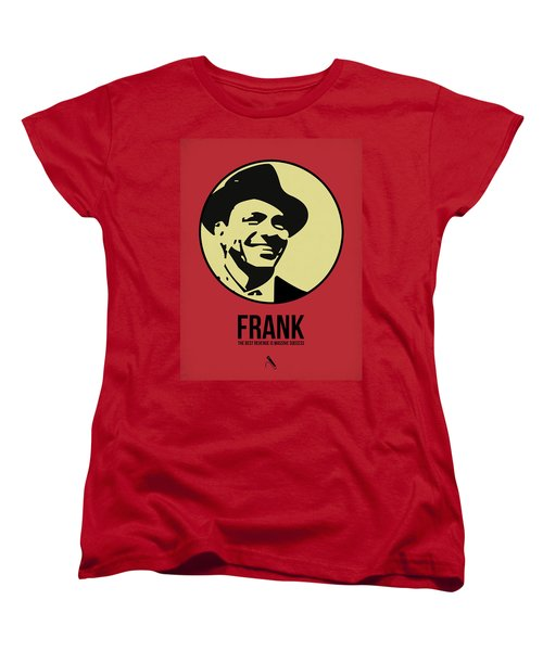 Frank Poster 2 Women's T-Shirt (Standard Cut) by Naxart Studio