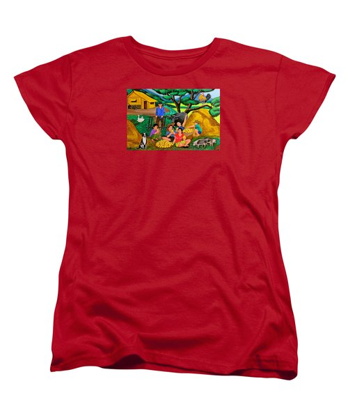 Harvest Time Women's T-Shirt (Standard Cut) by Cyril Maza