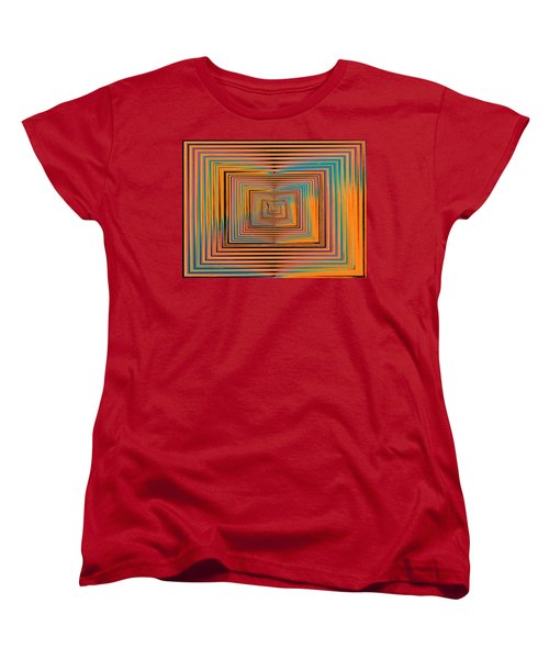 Mesmer Realized Women's T-Shirt (Standard Cut) by Tim Allen