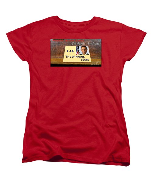 Number 44 - The Winning Team Women's T-Shirt (Standard Cut) by Terry Wallace