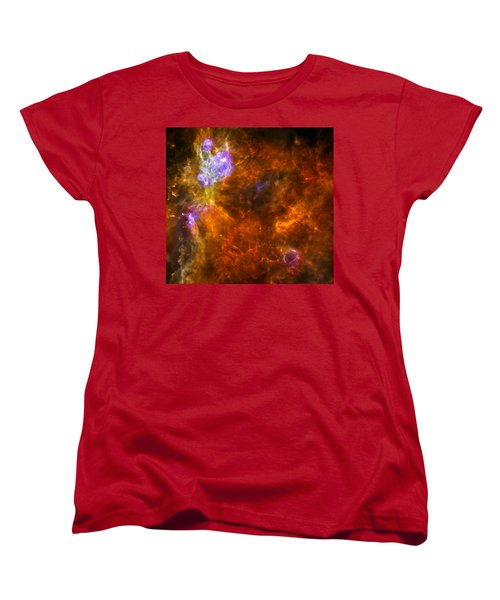 Women's T-Shirt (Standard Cut) featuring the photograph W3 Nebula by Science Source