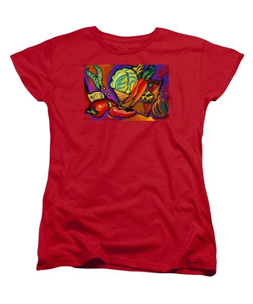 Very Healthy For You Women's T-Shirt (Standard Cut) by Leon Zernitsky