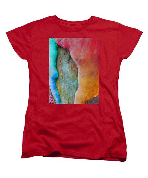 Women's T-Shirt (Standard Cut) featuring the digital art Become by Richard Laeton