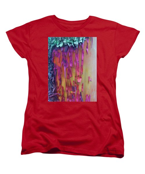 Women's T-Shirt (Standard Cut) featuring the digital art Imagination by Richard Laeton