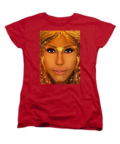 Jessica Alba Fairy Tale Women's T-Shirt (Standard Cut) by Mathieu Lalonde