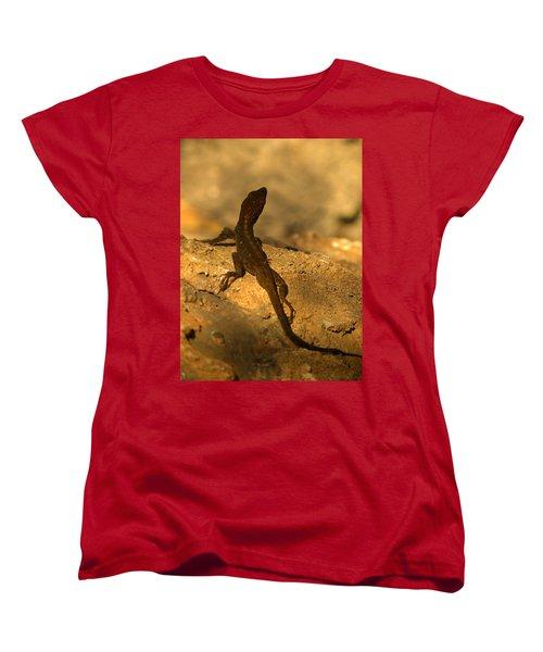 Leapin' Lizards Women's T-Shirt (Standard Cut) by Trish Tritz
