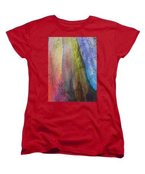 Women's T-Shirt (Standard Cut) featuring the digital art Move On by Richard Laeton
