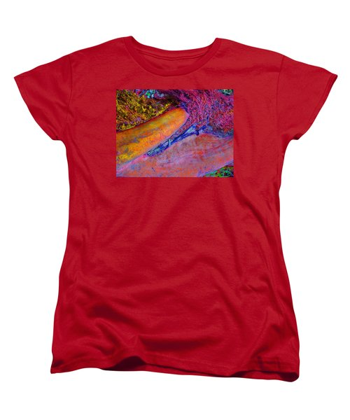 Women's T-Shirt (Standard Cut) featuring the digital art Waking Up by Richard Laeton
